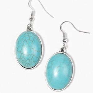 Ranch Romance - Turquoise Earrings